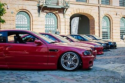 BMW E46 M3 FRONT FENDERS (overfenders, not felony form / drift) BY MUSK CUSTOMS