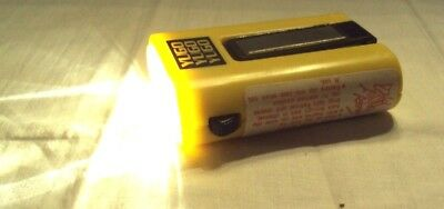 Vintage YUGO Advertising Flashlight with Magnet 1988 ~ NOS ~ 2-AA Batteries Inc.