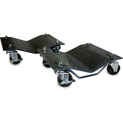 "2-Pack WEN Vehicle Dollies Set-of-2 x 1500LB Car Tire Skates Pair w 2.5"" Casters"