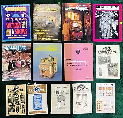 Collection Of Slot Machine And Jukebox And Periodicals