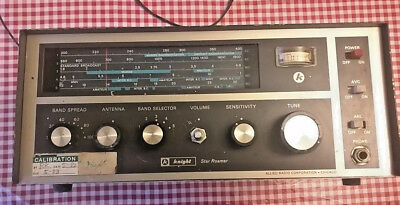 Vintage Allied Radio Corp. Knight Star Roamer Receiver, 5-Band