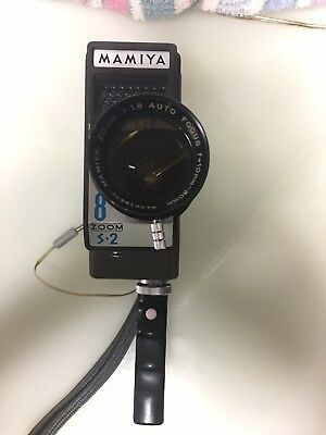 Mamiya 8 Zoom S-2 8 - 8MM Movie Camera - Japan - Very Rare Model