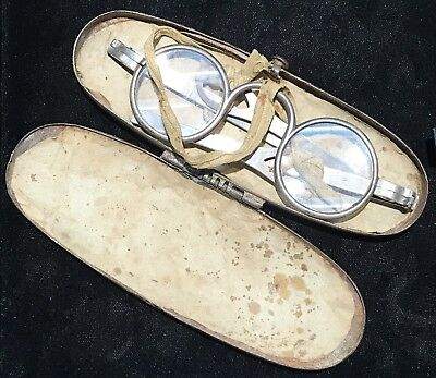 Antique Silver Wig Spectacles
