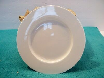 Front of the House 6.5 in Round Monaco Plate, Porcelain, White - 12 Pack