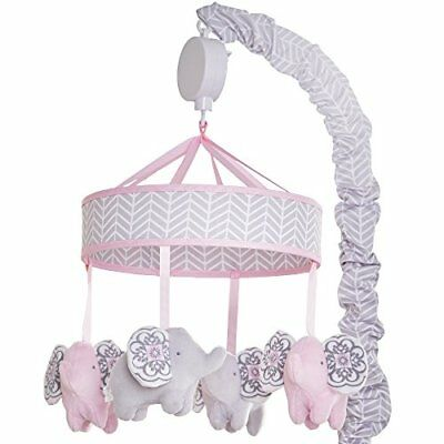Wendy Bellissimo Baby Mobile Crib Mobile Musical Mobile - Elephant Mobile fro...