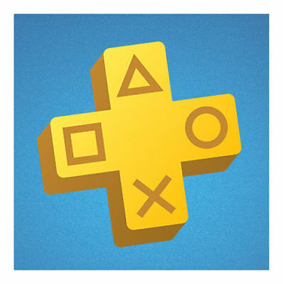 Sony PlayStation Plus 1 Year Subscription Membership New Card
