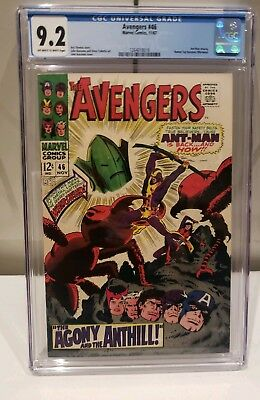 Avengers #46 CGC 9.2 Ant-Man Returns Human Top Becomes Whirlwind