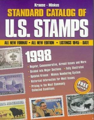 Krause-Minkus Standard Catalog of U. S. Stamps 1998
