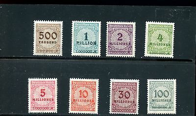 Lot 73581  Mint H 280 / 291   Stamps From Germany
