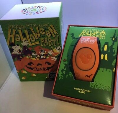 Mickey's Not So Scary Halloween Party 2017 Magic Band Magicband 2 LE 4000