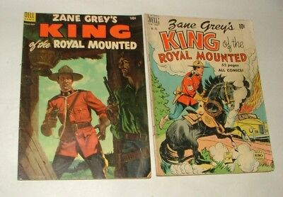 % 1950's The King Of The Royal Mounted Comic Book Collection Lot 1-A