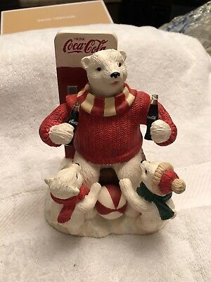 """Coca-Cola Heritage Collection Music Box """" Special Times With Dad"""""""