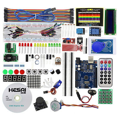 RFID Learning Kit Starter Stepper Driver for Arduino UNO R3 Upgraded Version New