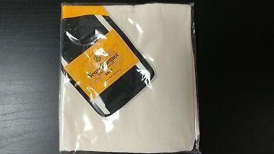 VEUVE CLICQUOT Ponsardin Champagne Limited Edition Canvas Shopping Tote Bag NEW