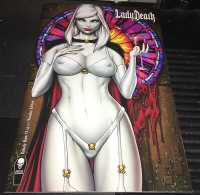 Lady Death Unholy Ruin #2 Mike Debalfo Naughty Variant Coffin Comics 2018 NM