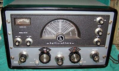 1961-1964 Hallicrafters SX-115 w/Original Manual .. Exc Condition .. Working