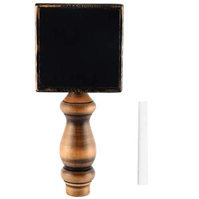Clearance Square Style Chalkboard Beer Tap Handle for Kegerator with Chalk