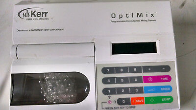 SDS Kerr Demetron OptiMix 100 Programmable Amalgamator Dental Mixing dead