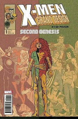 X-Men Grand Design Second Genesis #1 (Of 2) Marvel Comics