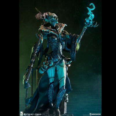"SIDESHOW 500065 Xiall: Osteomancer's Vision Court of the Dead 13"" Figure"