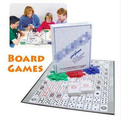 Funny Entertainment Board Game Card Sequence Friend Family Party Fun Playing AU