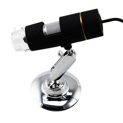 8LED 1000X Digital USB 2.0 Microscope Endoscope Magnifier Camera with Lift Stand