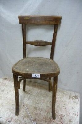 1221. Alter Bugholz Stuhl Old wooden chair