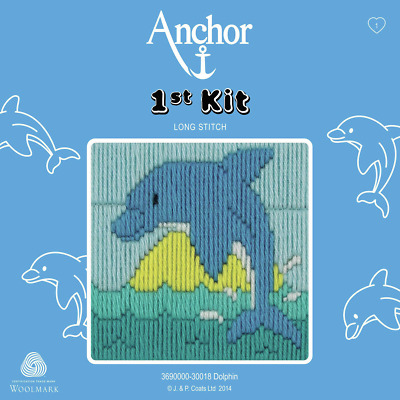 Dolphin - Long Stitch - Anchor 1st Kit - 3690000-30018