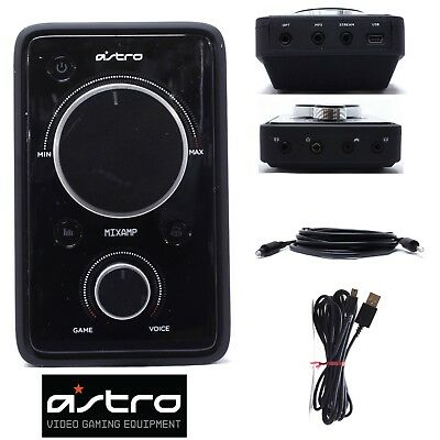 Astro A40 Gaming MixAmp Pro With All Cables for Ps3 Ps4 Xbox ONE Xbox 360 Chat