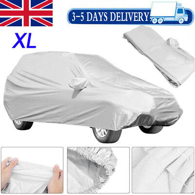 XL Waterproof Silver Car Cover SUV 4x4 MPV Off-road Sport Rain Snow Protection