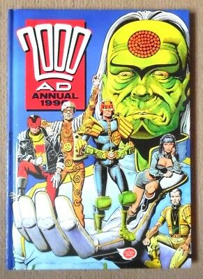 2000Ad Annual 1990 No Loose Pages Not Price Clipped Judge Dredd