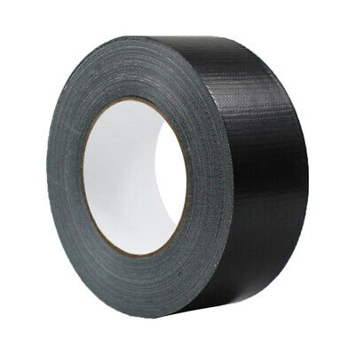 1 x Waterproof Black Highly adhesive Heavy Duty Gaffer Cloth Duct Tape