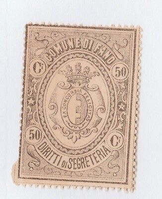 Italy Revenue Fiscal stamp 11-16-  Local Stamps-