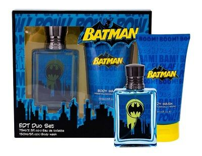Batman Birthday Gift Kids Fragrance EDT Duo Set