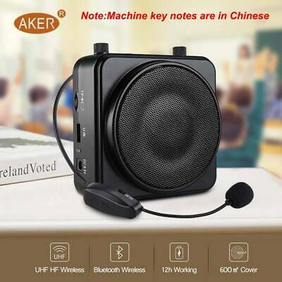AKER Portable Voice Amplifier Booster Microphone Loudspeaker For Teaching Guide