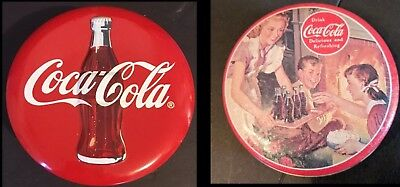 Vintage Coca Cola Scentins Mullberry & Vanilla Candles & Collectible Tins 1993