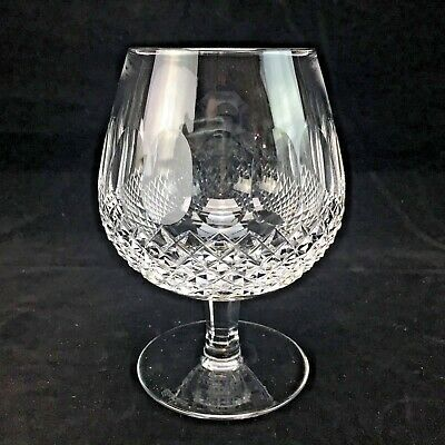 Waterford Crystal Colleen Brandy Snifter Glasses Short Stem 5 1/4