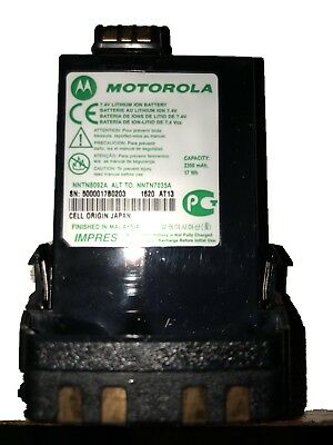 Motorola NNTN8092A Li-ion IMPRES Battery 2300mAh. -Brand New-In The Box
