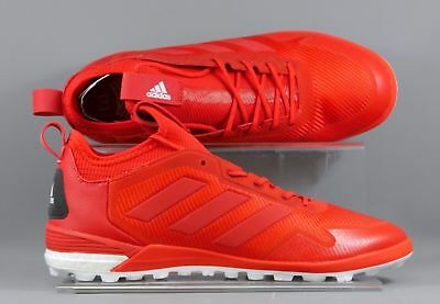 Adidas (BA8533) ACE Tango 17.1 TF adults football boots - Red/Grey (new in box)