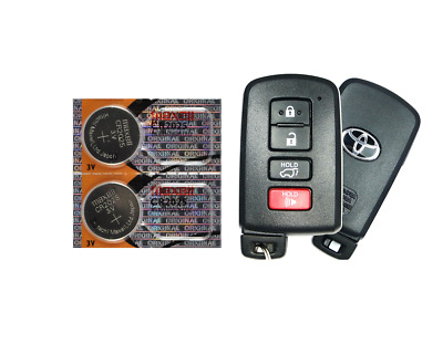 Toyota Keyfob Replacement Battery Maxell CR2025 Lithium (2 Pack) + Tracking