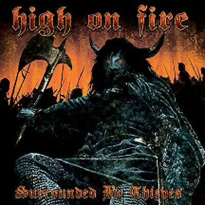 Surrounded by Thieves [LP] by High on Fire (Vinyl, Jan-2006, Relapse Records...