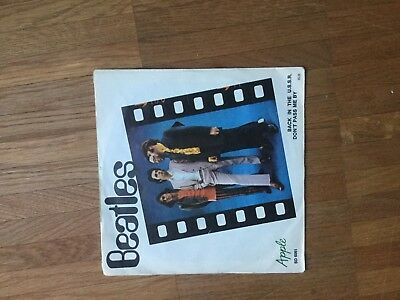 """7"""" The Beatles - Back In The USSR / Don't pass me by  VG++"""
