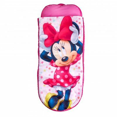 Worlds Apart Minnie Mouse Junior ReadyBed, Kids Inflatable Sleeping Bag DISNEY