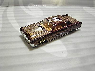2017 HOT WHEELS ''HW ART CARS'' loose = `64 LINCOLN CONTINENTAL = BROWN