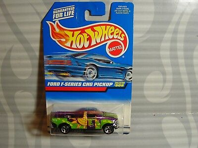 1999 Hot Wheels #908 = Ford F-Series Cng Pickup = Purple , 0910