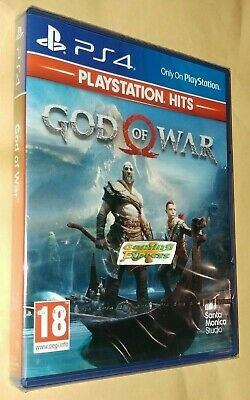 God of War Playstation 4 HITS NEW NEW SEALED Free UK p&p Pal SONY UK STOCK