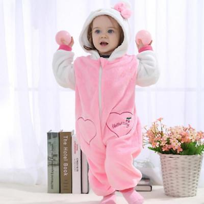 027e0be1a Baby Unisex Romper Cosplay Costume Pajamas For Kids HELLO KITTY 12-18 Months