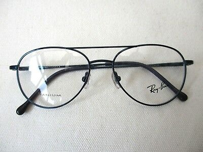 7980e39a6d Ray Ban Childs Glasses Titanium Blue Aviator Full Frame Rb 1019T 3002 47-14  125