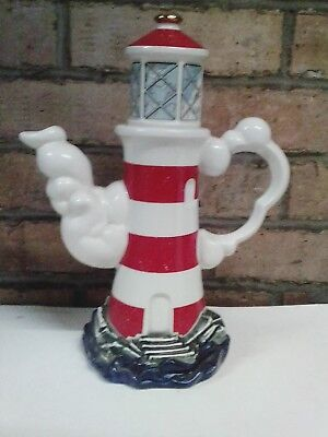 Large Cardew Lighthouse Tea Pot Limited Edition 199/5000 signed