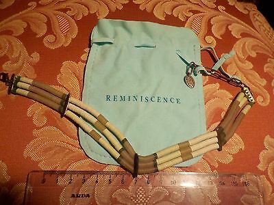 Reminiscence Rem Zoe Coste Paris!usa Native American Choker Navajo!last Chance!!